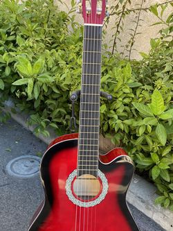 red fever classic acoustic guitar for Sale in Bell Gardens,  CA