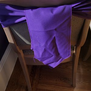 11 Purples chair sashes for Sale in Oakland, CA