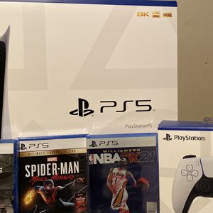 PS5 Disc Bundle for Sale in Balch Springs, TX