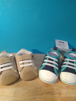 Newborn shoes 2 pair for Sale in Woodlyn, PA