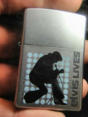 Zippo Elvis lighter 2006w/case for Sale in Summerfield, FL