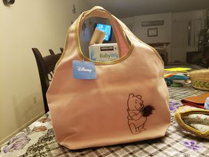 Winnie the pooh pink tote bag for Sale in Riverside, CA