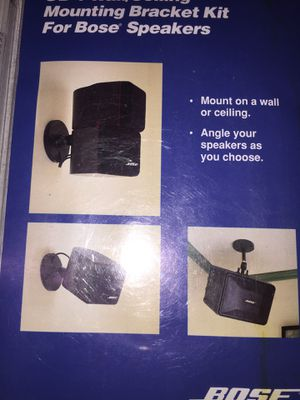 Bose Speakers Wall mounting brackets! New! for Sale in Syracuse, NY