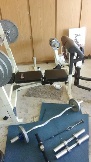 Bench with weights for Sale in Glendale, AZ