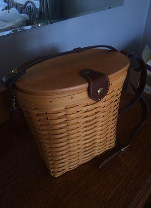 Longaberger Baskets. Handwoven Purse for Sale in Marysville, WA