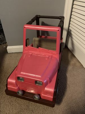 Jeep for dolls for Sale in Hanover, PA