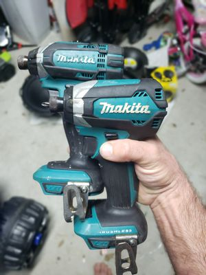 Two 18v Brushless Makita impacts and charger for Sale in Bridge City, LA
