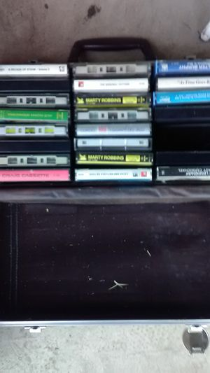 Old music tapes for Sale in Acampo, CA