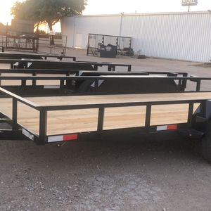 Utility Trailer 78x16 W Brakes And Ramps for Sale in Dallas, TX