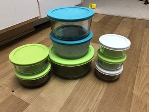 Pyrex glassware set for Sale in Irvine, CA