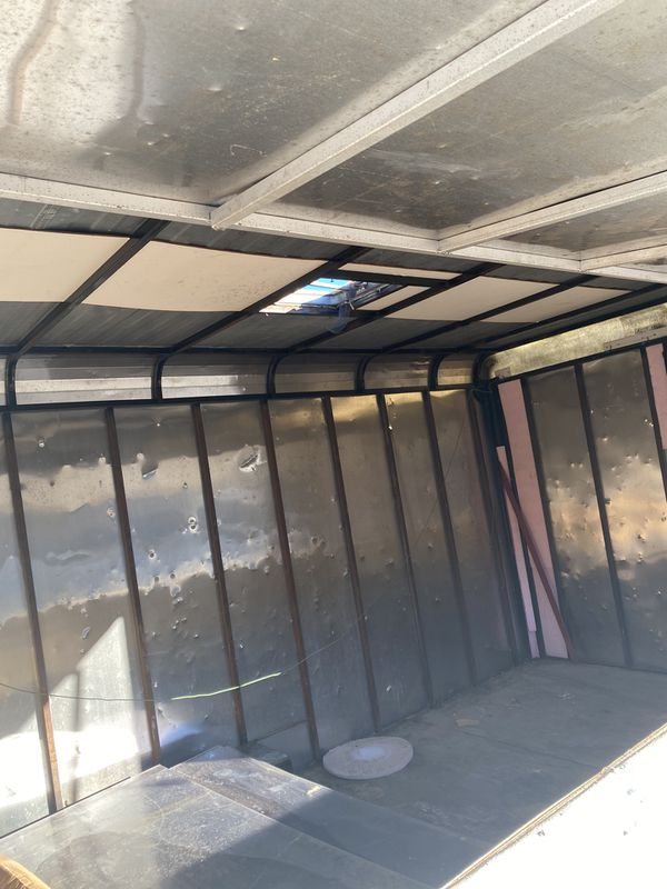Enclosed trailer food trailer, concession ECT