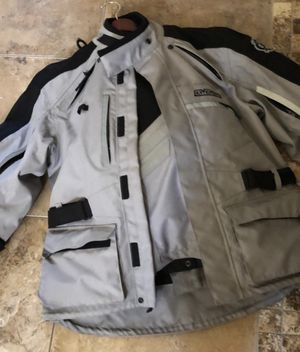 ARC ADVENTURE MOTORCYCLE GEAR LARGE JACKET AND PANTS for Sale in San Antonio, TX