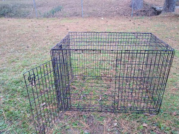 XXL Dog Crate without Pan 80$ (fits dogs 90lbs or more comfortably)