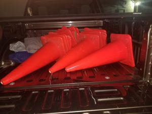 16 like new saftey orange fullsize cone deal for Sale in Leominster, MA