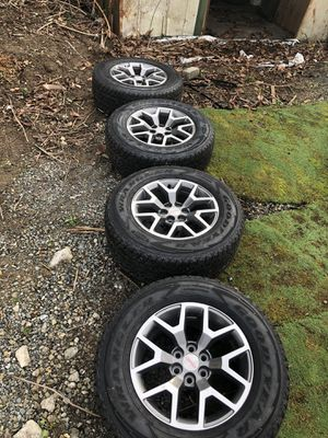 Almost new set of tires and rims, $450 for Sale in Bothell, WA