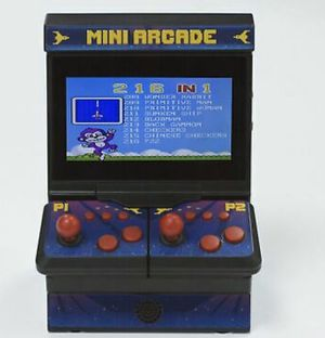 Mini arcade over 200 games inside for Sale in Glendale, AZ