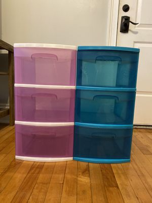 Set of 3-drawer storage container for Sale in Tampa, FL