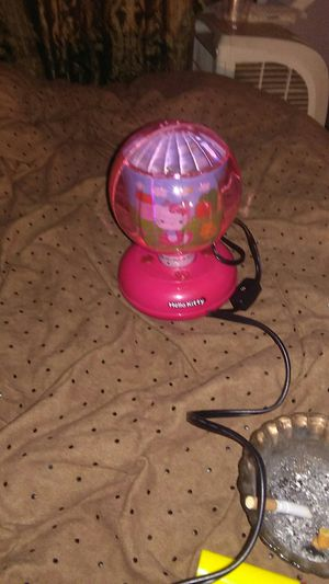 Hello kitty rotating lamp for Sale in Belleville, IL