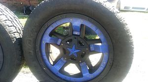 Full set off road rim and tires 6 lug for Sale in North Chesterfield, VA