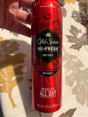 Old spice body spray $4 each for Sale in San Bernardino, CA