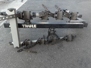 Thule Bike Rack Holds 4. for Sale in Garden Grove, CA