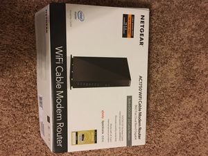 NETGEAR AC1750 WiFi Cable Modem Router for Sale in Bloomington, IL