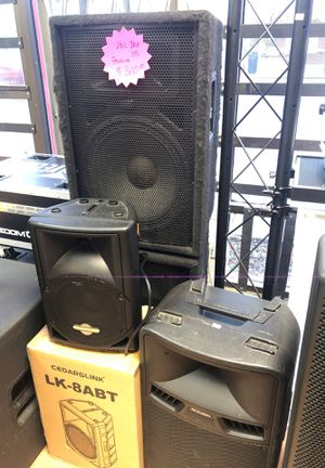 Dj / Pa speakers for Sale in Modesto, CA