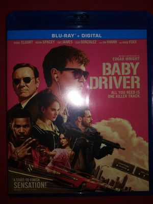Baby Driver Blu-Ray for Sale in Vancouver, WA