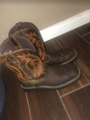Work boots size 10 for Sale in Bakersfield, CA