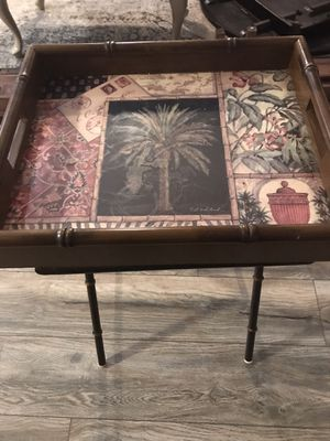 Serving Tray Side Table for Sale in Middletown, NJ