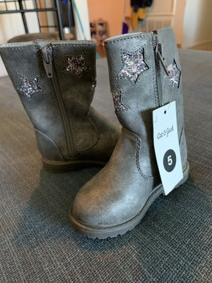 Girl boots size 5 new for Sale in Los Angeles, CA