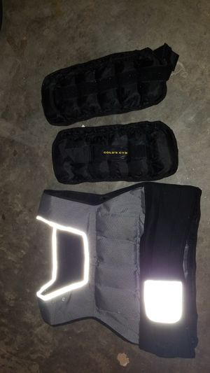 gym weight vest for Sale in Wake Forest, NC