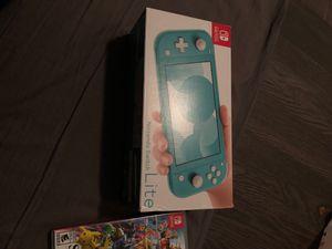 Nintendo switch lite plus smash bro ultimate for Sale in Seattle, WA