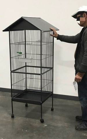 New in box 61 inches tall parakeet parrot bird cage with easy cleaning removable tray for Sale in Whittier, CA