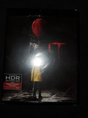 *NEW* Stephen King's IT (2017) 4K UHD/HDR Bluray for Sale in Spring, TX
