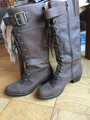 Womens size 10 Red Wing lace up leather boots - excellent condition! for Sale in Washington, DC