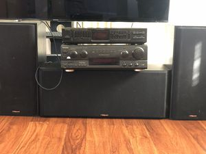 Klipsch Speaker Set w/ Reciever, and Equalizer for Sale in Los Angeles, CA