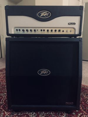 BRAND NEW PEAVEY WINDSOR 100 WATT HALF STACK, ONLY USED ONCE for Sale in Meridian, ID