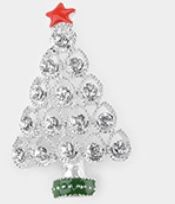 Xmas tree brooch for Sale in Parkville, MD