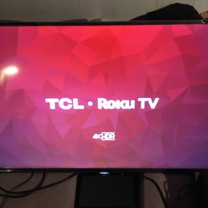 Roku TCL 4K tv for Sale in Chicago, IL