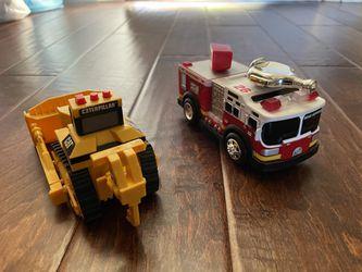 Fire truck & CAT Excavator for Sale in Diamond Bar,  CA