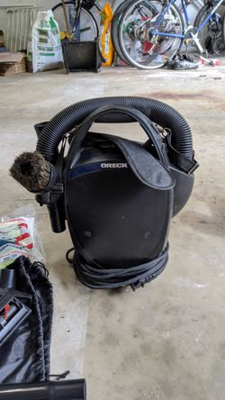 Portable compact canister cc1600 oreck vacuum for Sale in Fairfax,  VA