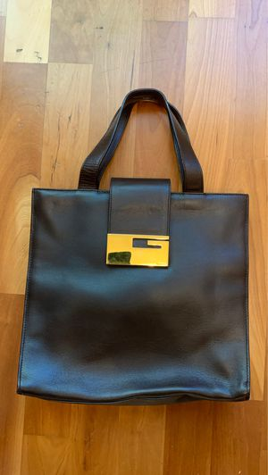 Very Rare Vintage Gucci Leather Metal Fittings Satchel Tote Bag for Sale in La Jolla, CA