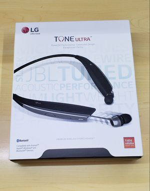 LG TONE ULTRA HBS-820 Bluetooth Wireless Stereo Headset JBL Sound for Sale in Bronx, NY