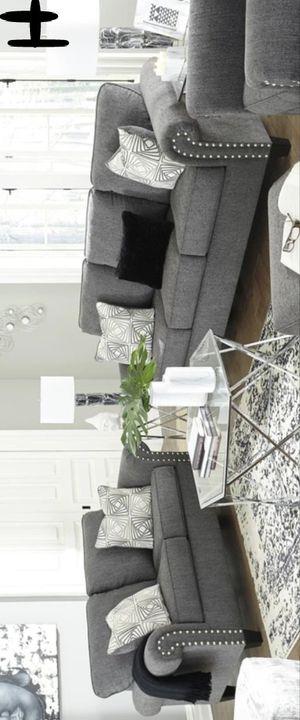 New Brand - Best Offer Agleno Charcoal Living Room Set | 78701 # for Sale in Houston, TX