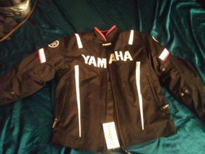 Motorcycle jacket. Yamaha size large for Sale in Pompano Beach, FL
