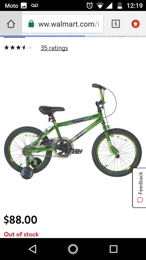 18 in Genesis boys BMX bike