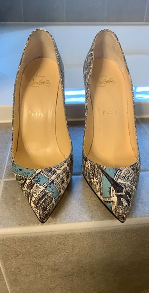 Christian Louboutin Paris Maps 37.5 fit like 6-6.5 narrow for Sale in Chantilly, VA