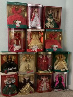 1988-1998 Holiday Barbie Collection lot PLUS EXTRAS for Sale in San Jose,  CA