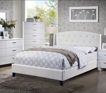 Brand new king leather bed frame $350 no mattress